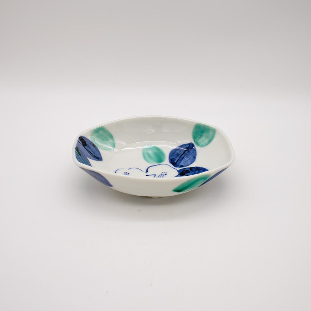 BP-8 染椿 舟形小鉢