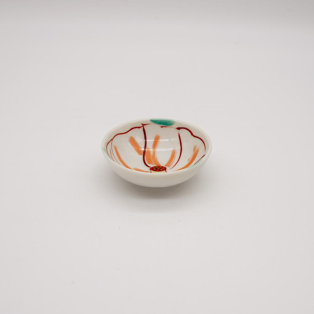 LP-1A 色絵椿 豆皿