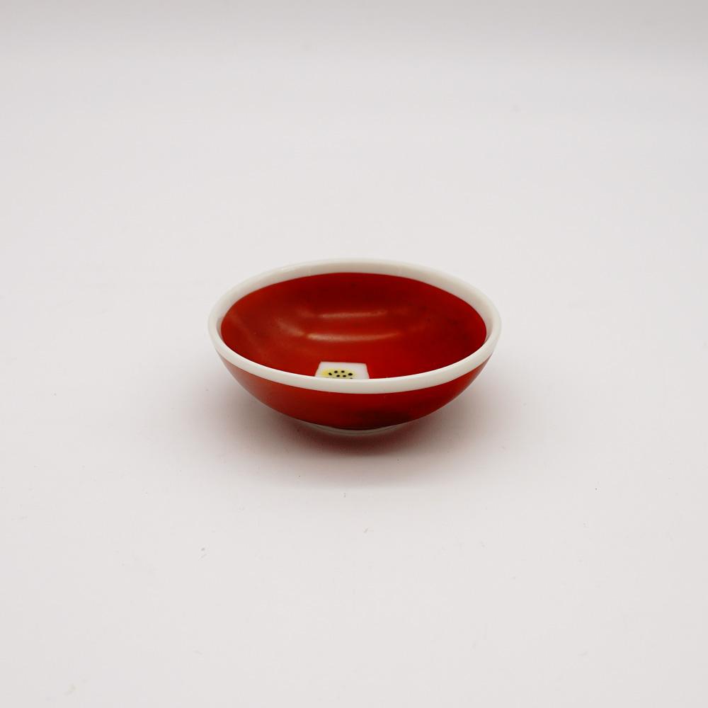 LP-1B 赤巻椿 豆皿
