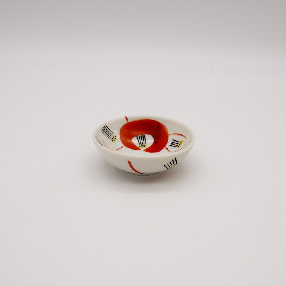 LP-1C 赤椿 豆皿
