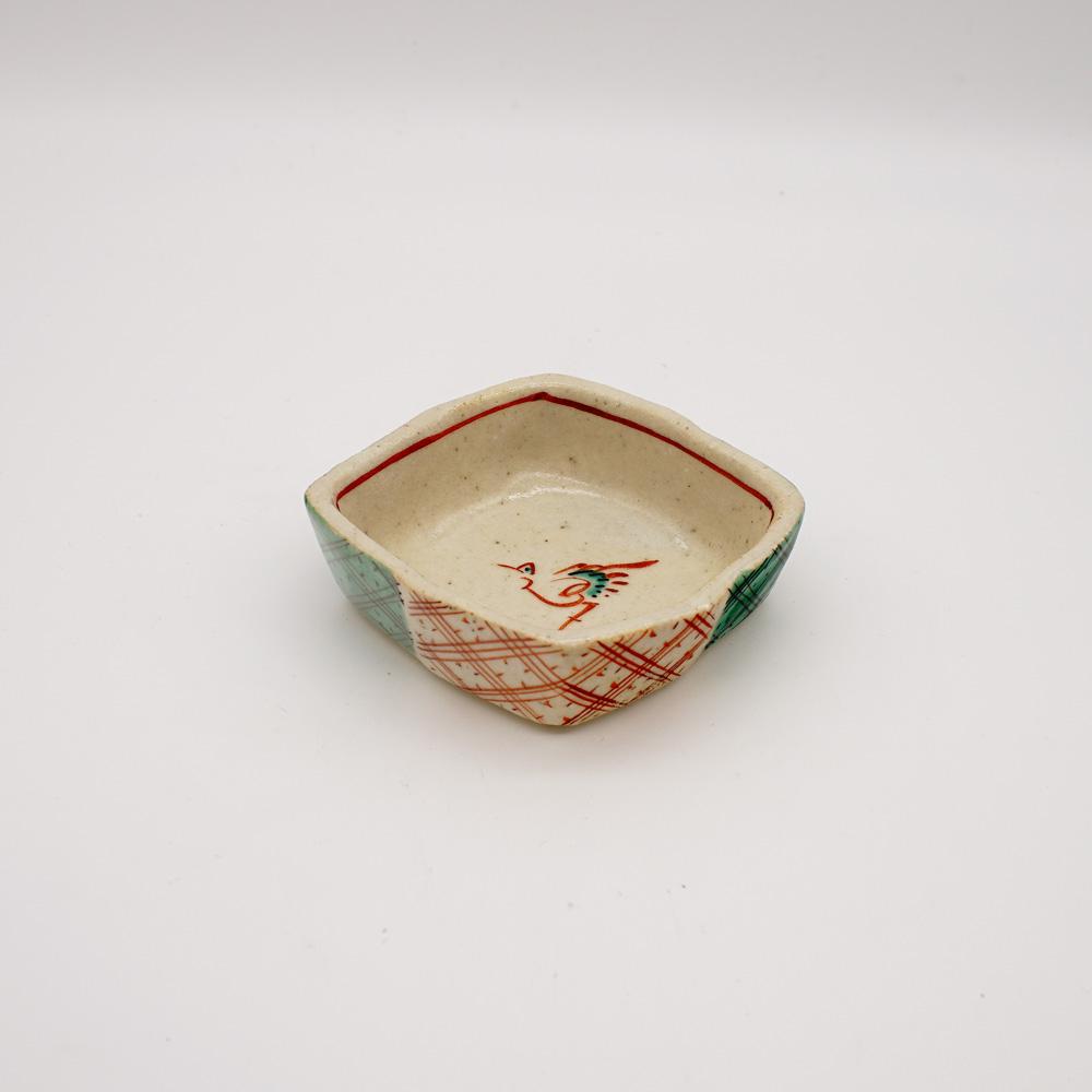 LE-5A 赤絵松皮菱 小皿