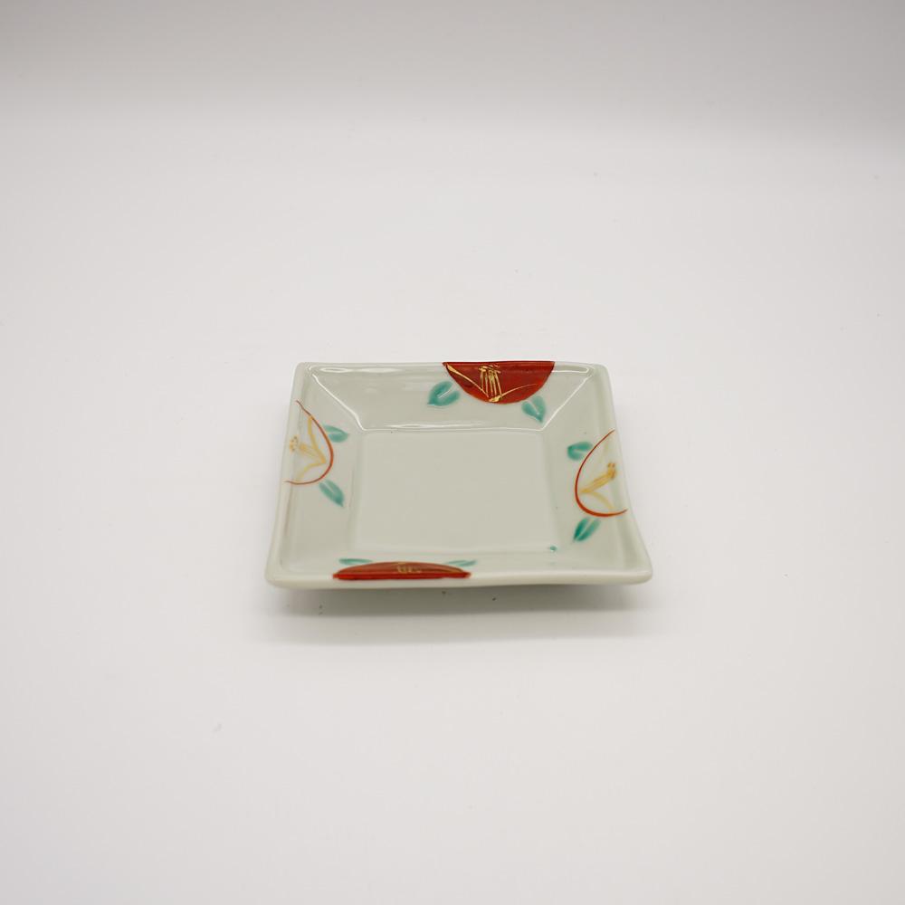 LP-4B 赤椿 角小皿