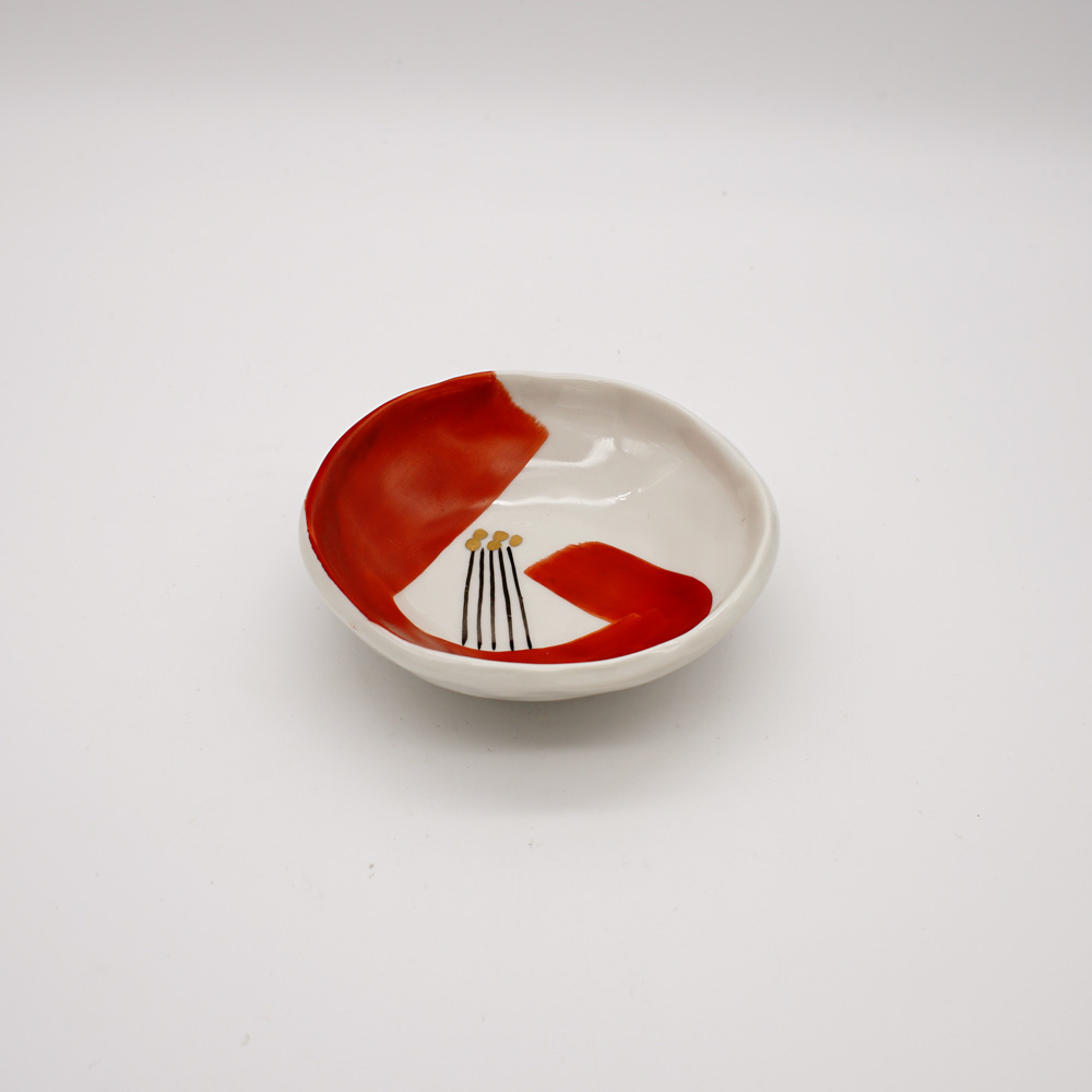LP-5A 赤椿 小皿