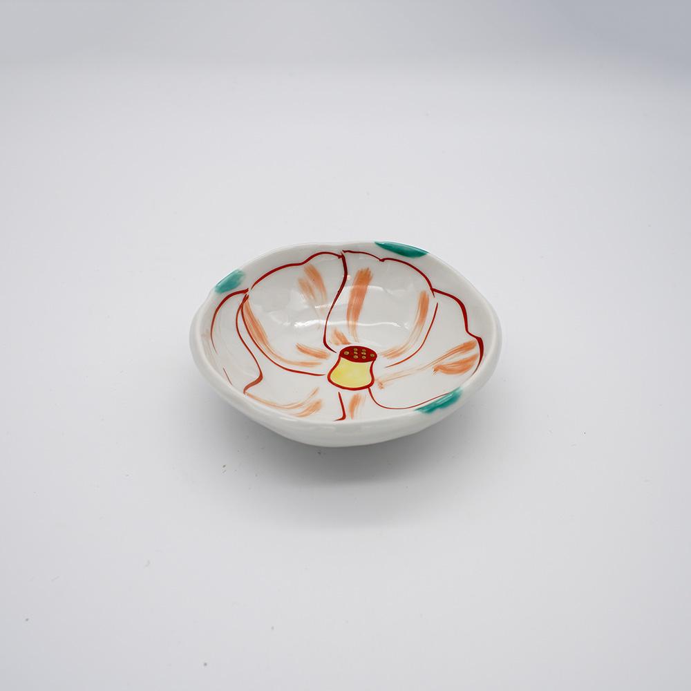 LP-5C 色絵椿 小皿
