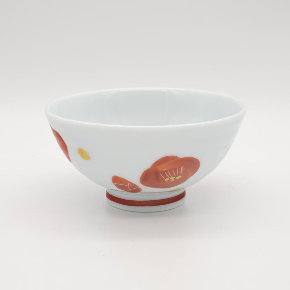 HP-6A 金銀赤椿 碗