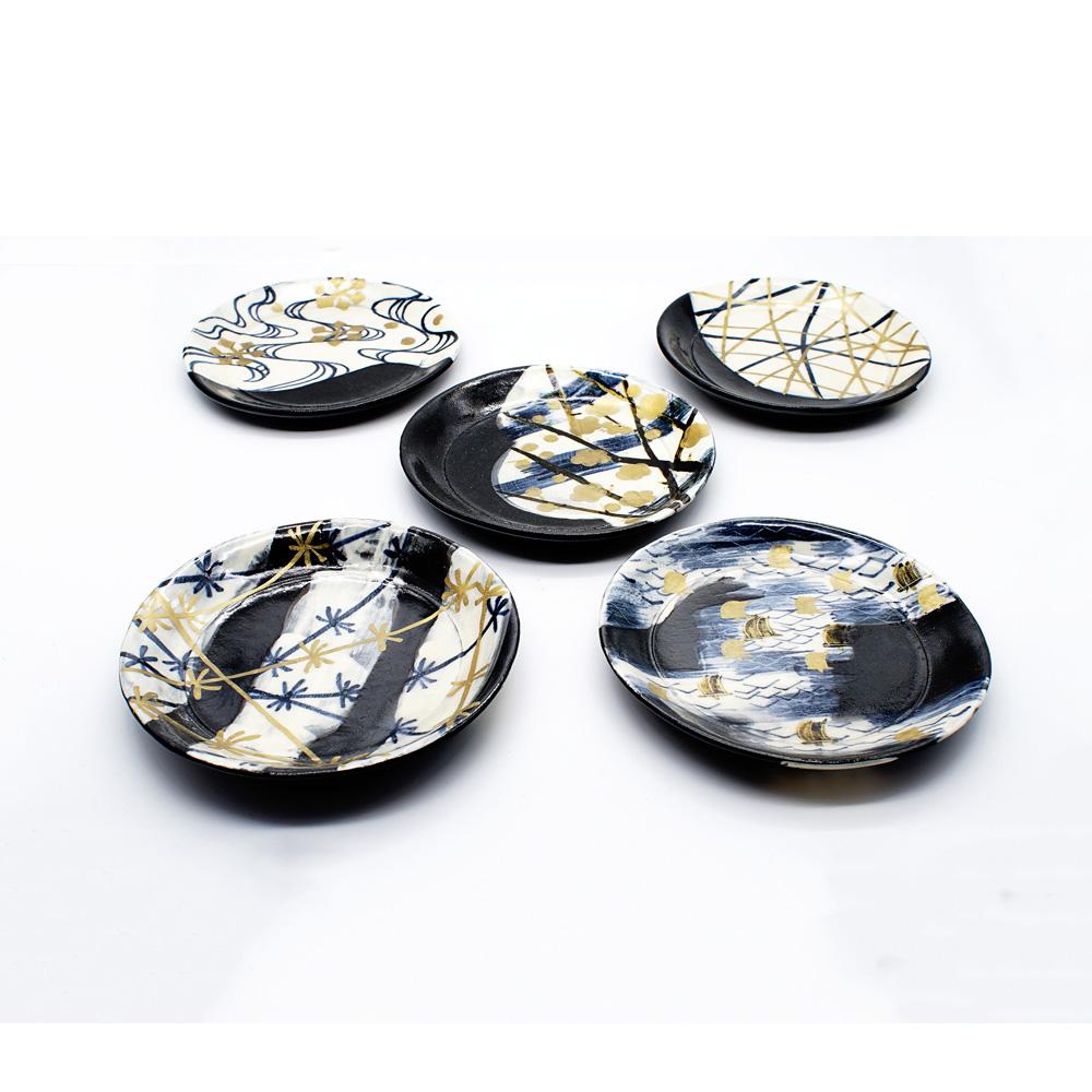 LE-16 乾山絵替 土器皿