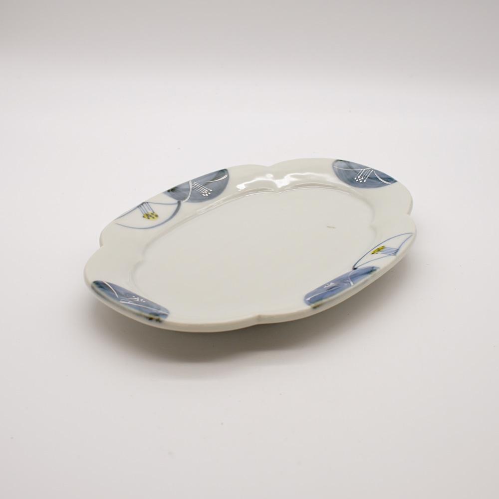 LP-17C 染椿木瓜 皿