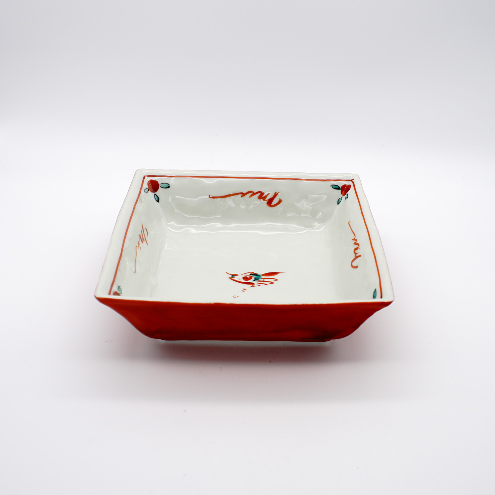 BP-10B 赤巻鳥紋 預鉢